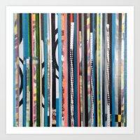 STRIPES19 Art Print