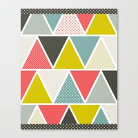 Triangulum Canvas Print
