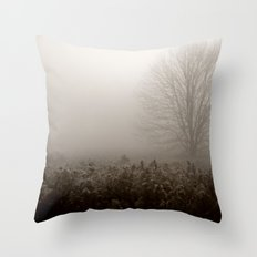 Falls first frost Throw Pillow