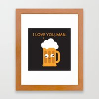 Brewmance Framed Art Print
