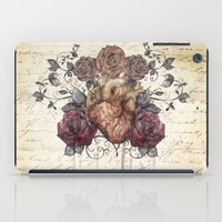 Flowers From My Heart iPad Case