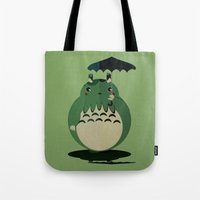 my neighbor cthulu Tote Bag