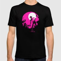 Zombies! Mens Fitted Tee Black SMALL