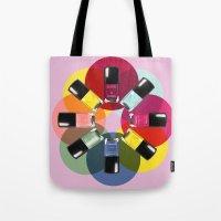 Designer Nail Polish Pri… Tote Bag