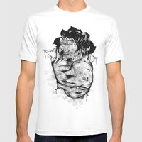The Rat Mens Fitted Tee White SMALL