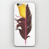 Feather #7 iPhone & iPod Skin