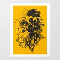 Chaos Theory Art Print