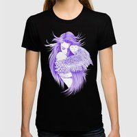 Kiss Womens Fitted Tee Black SMALL