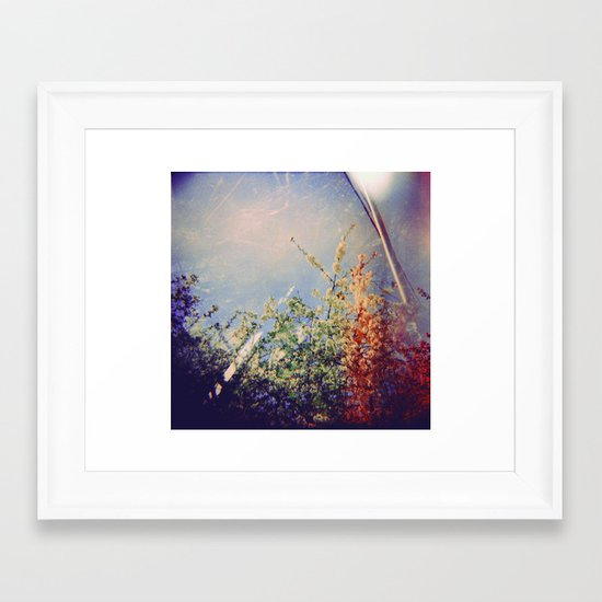 Holga Flowers IV Framed Art Print