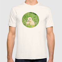 Happy-Go-Ducky Mens Fitted Tee Natural SMALL