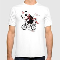 Sad Circus Mens Fitted Tee White SMALL