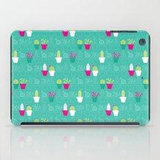 Mini Cactus Love iPad Case