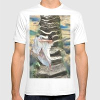 She's Buying A Stairway … Mens Fitted Tee White SMALL