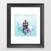 ColorCake Framed Art Print