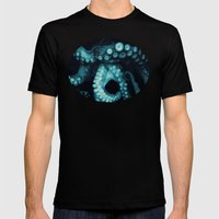 Lure ~ Teal version Mens Fitted Tee Black SMALL