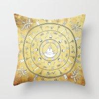 Journey Mandala Throw Pillow