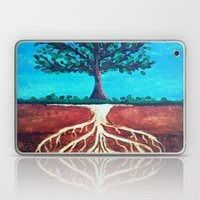 A Tree Only Stands Tall … Laptop & iPad Skin