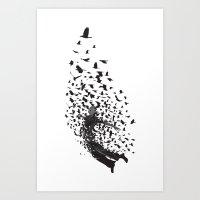 Shoot Fast - Before He T… Art Print