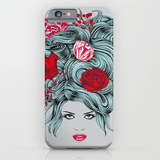 Winter Girl iPhone & iPod Case