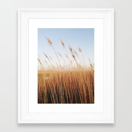 Refuge Sunset Framed Art Print