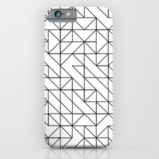 BW TRIANGLE PATTERN Slim Case iPhone 6s