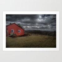 The Coming Storm Front Art Print