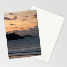 Evening Skies Over Polzeath Stationery Cards