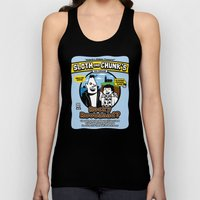 Sloth and Chunk's Ice Cream Unisex Tank Top