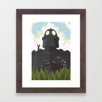 I Am Not A Gun Framed Art Print