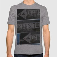 trans trans transito Mens Fitted Tee Athletic Grey SMALL