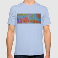 Pastel Mens Fitted Tee Athletic Blue SMALL