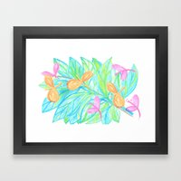 Dragon Flys Framed Art Print