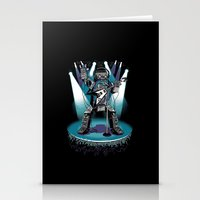 Jukebox Hero Stationery Cards