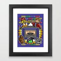 Everything Is Awesome Mi… Framed Art Print