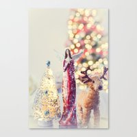 Very Merry Christmas  Canvas Print