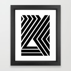 WILD STRIPES Framed Art Print