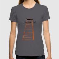 Trainspotting Womens Fitted Tee Asphalt SMALL