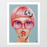 Cool Redux Art Print