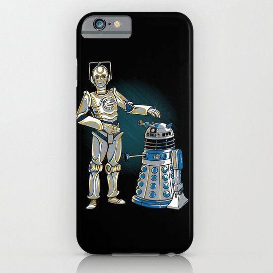 Cyber3PO and R2Dalek iPhone & iPod Case