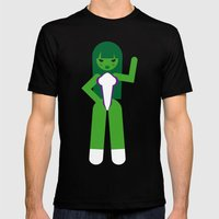 She Hulk Mens Fitted Tee Black SMALL