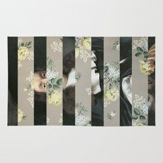 A Portrait With Bars 3 Rug