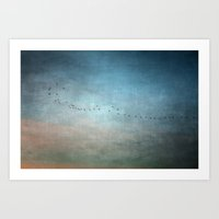 Toward The Sunset Art Print