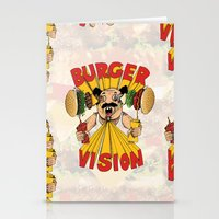 Burger Vision Stationery Cards