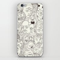Faces Of Math (no Color … iPhone & iPod Skin