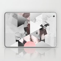 Geometric woman PINK Laptop & iPad Skin