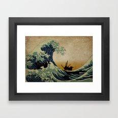 New Wave Framed Art Print