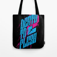 Death to Flesh Tote Bag