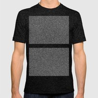Noise Interrupted Mens Fitted Tee Tri-Black SMALL