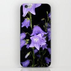 Flowers in Purple iPhone & iPod Skin