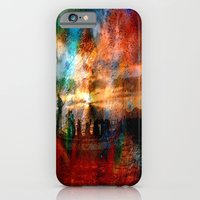 iPhone & iPod Case featuring Abstract Landscape  by Lo Coco Agostino